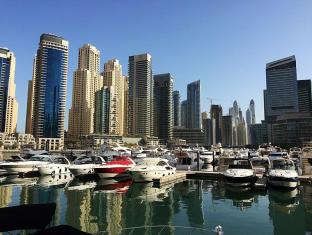 Pearl Marina Hotel Apartment Dubai - Public Promenade Walk
