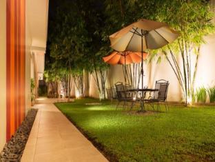 Escario Central Hotel Cebu Stadt - Garten