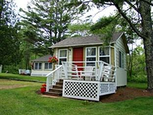 Bay Leaf Cottages & Bistro Lincolnville (ME) - Utsiden av hotellet