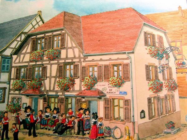 Hotel Restaurant A La Ville De Nancy