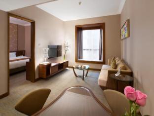 Rosedale Hotel Hong Kong הונג קונג - חדר שינה