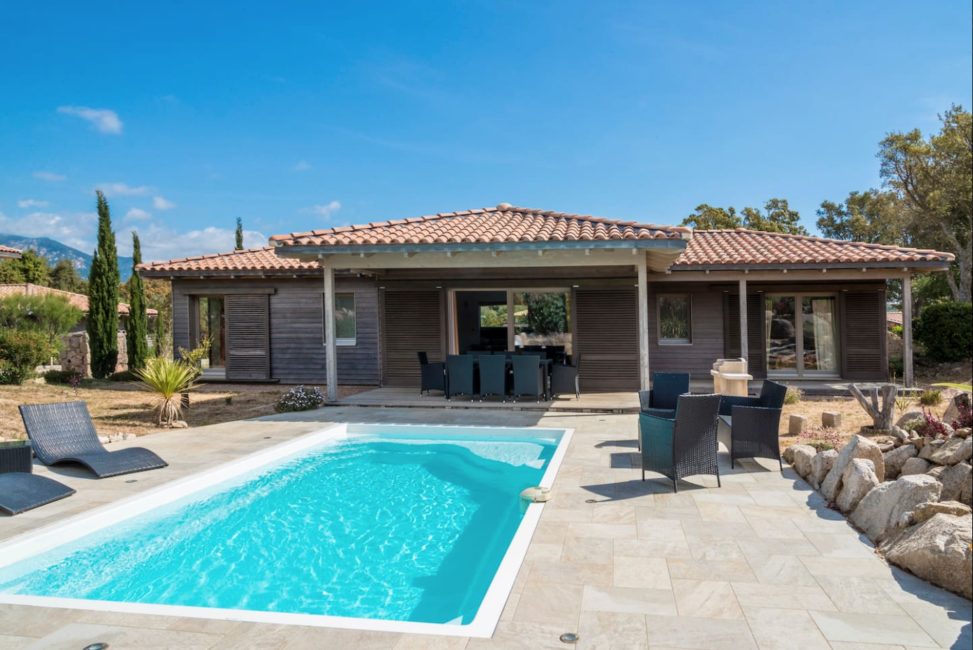 Villa 'chene Liege' 6 8 Pers With Private Pool