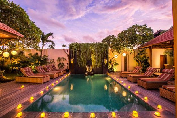Private Pool Villa with Chef and near Sanur Beach