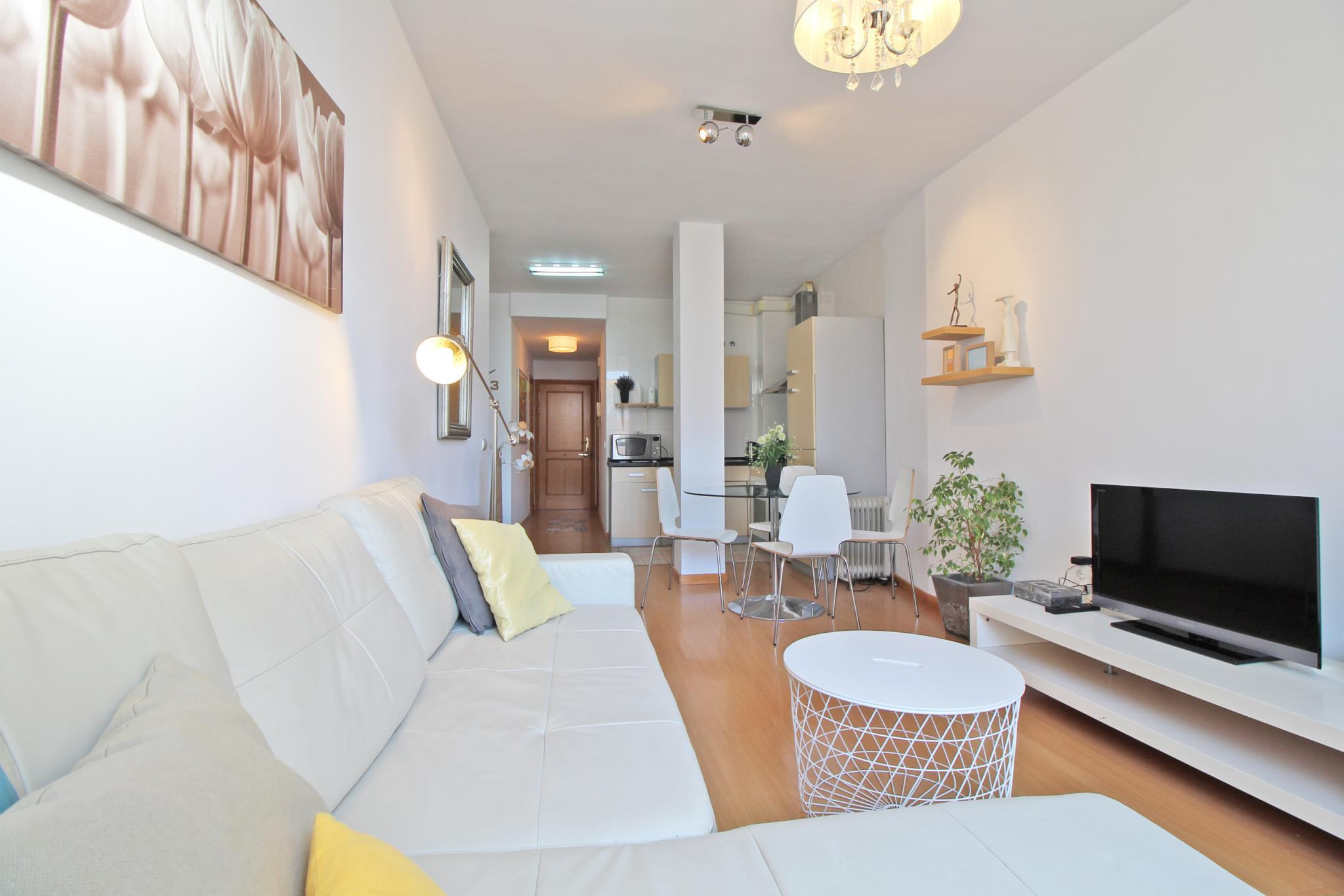 Central And Bright Apartment With Wifi In Malaga