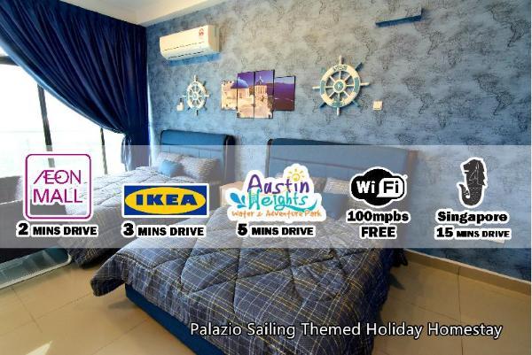 Palazio Sailing Theme Holiday Homestay Johor Bahru