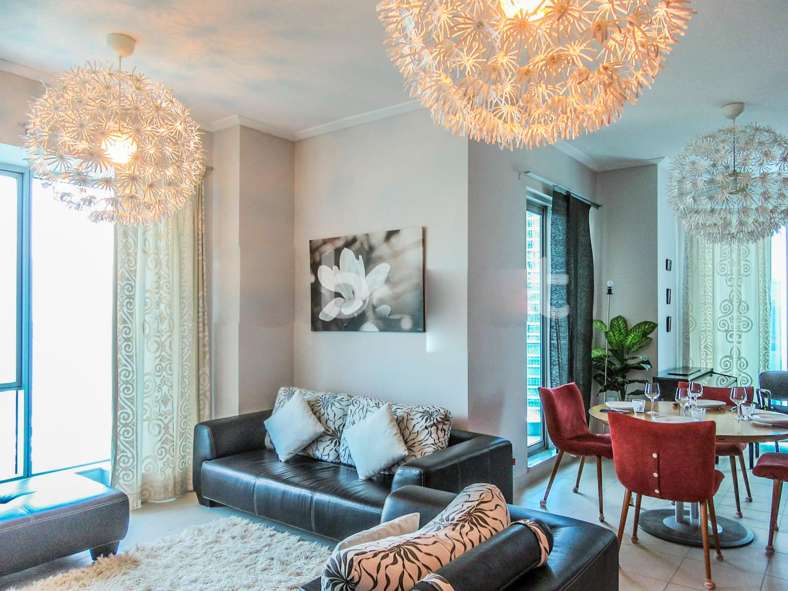 Stylish And Spacious 2 Bd Apt With Full Marina View