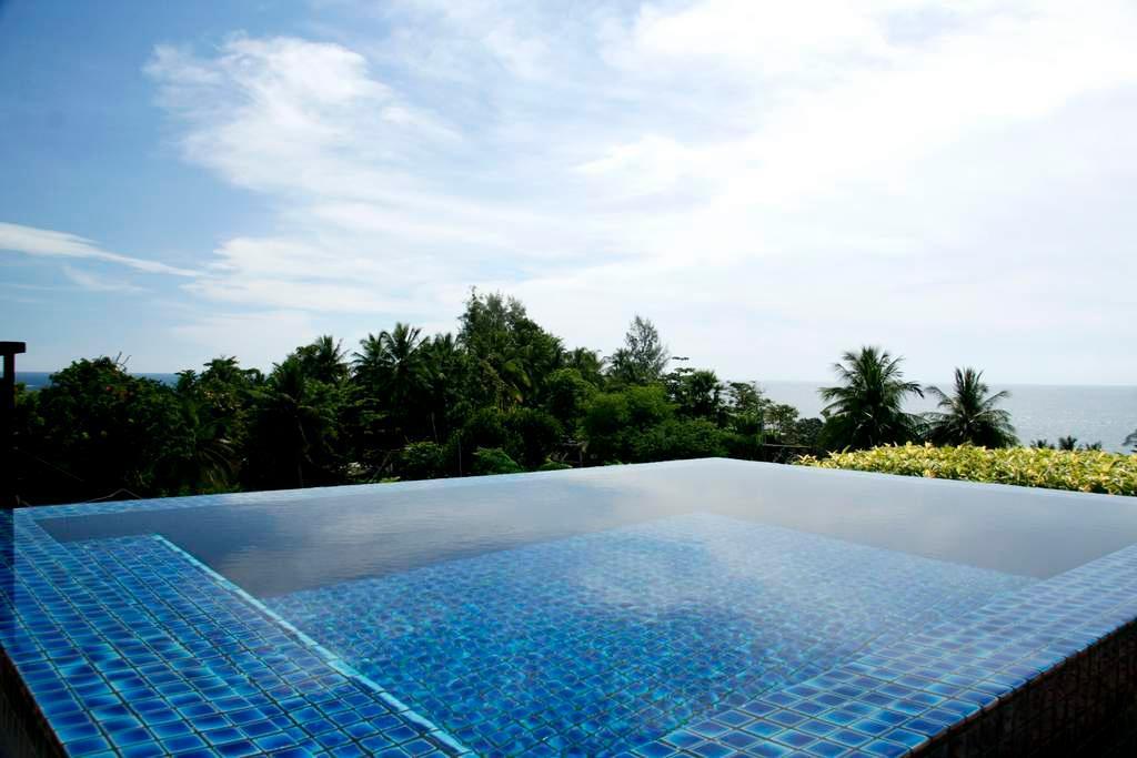 Kata Gardens luxury penthouse sea view 4C