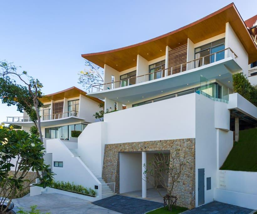 The Ridge Villa 8  4 Bedrooms   Panoramic Seaview