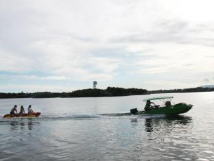 Papa Kit's Marina Resort Liloan - Banana boat