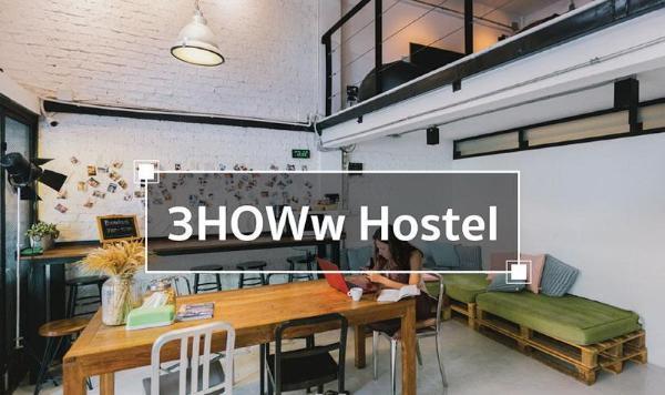 3Howw hostel at Khaosan Bangkok