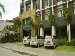 Praja Hotel Bali - Hotellet från utsidan