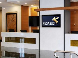 Pegasus Apartment Hotel Melbourne - recepcija