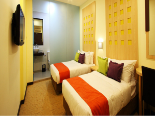 360 Xpress Citycenter Budget Boutique Hotel Kuching - Gjesterom