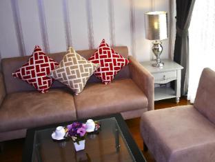 Nai Lert Residence Bangkok - Deluxe Suite Living Room