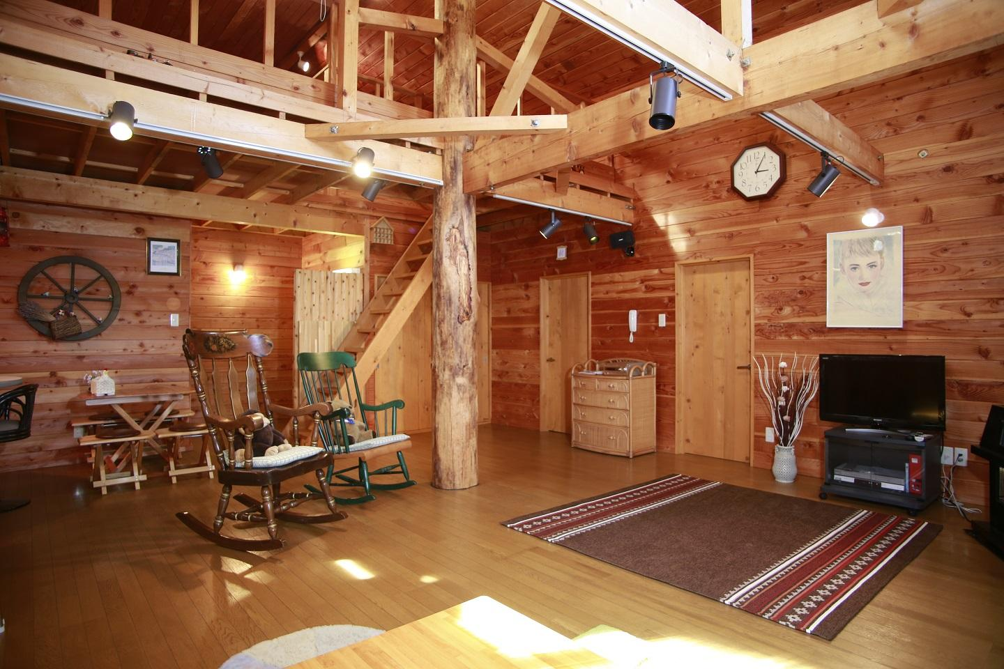 Lake Toya Log Cabin With Parking And Wifi