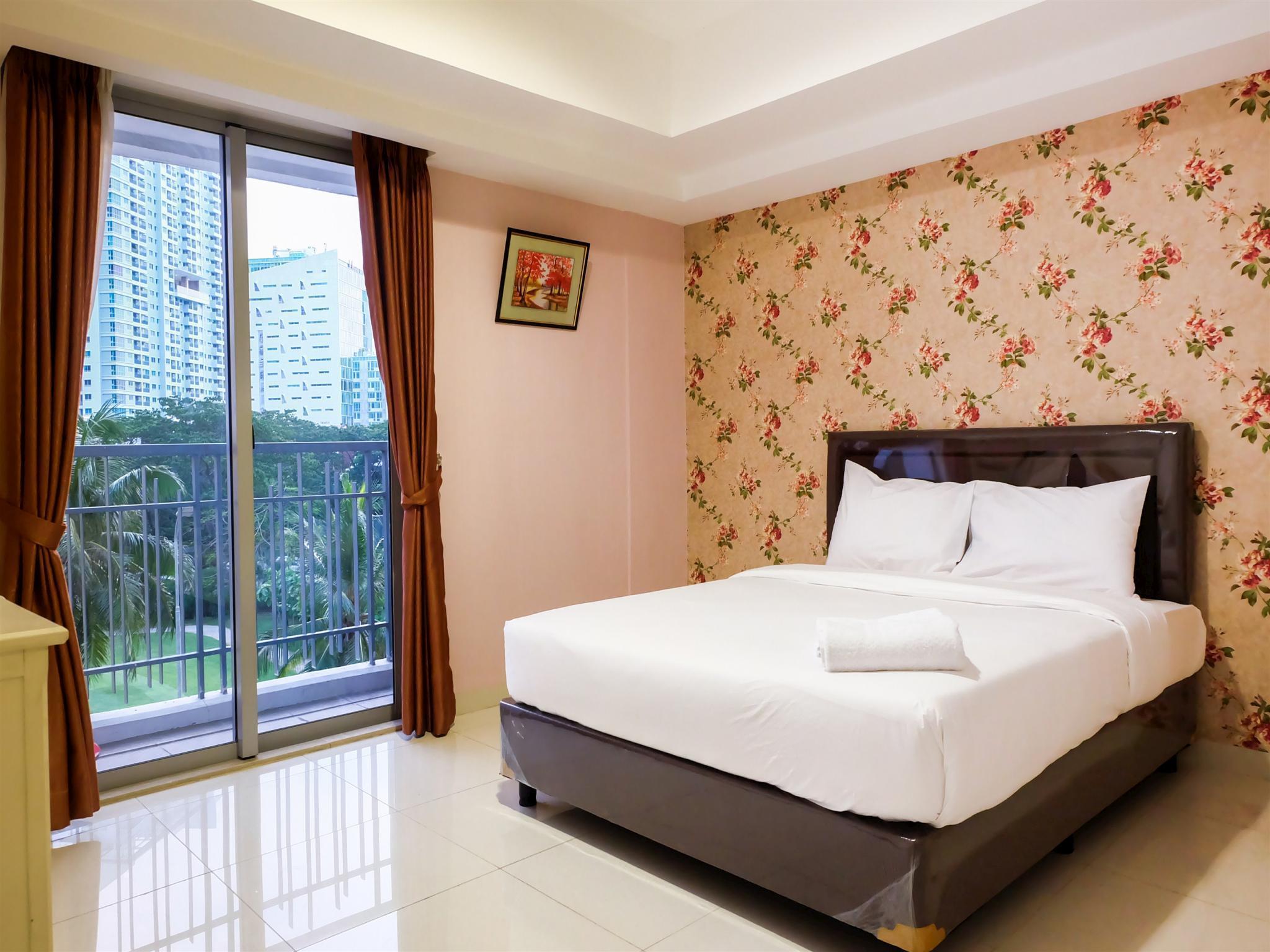 1BR Homey The Mansion Apt Kemayoran By Travelio