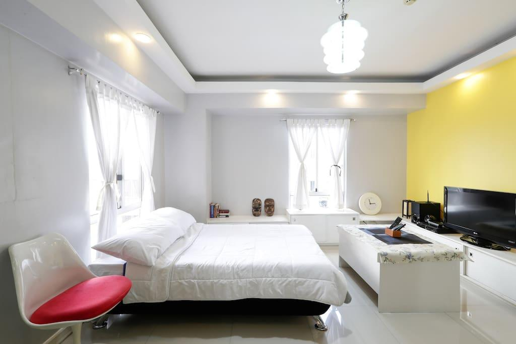 Near Manila Airport- Cozy and affordable 1BR for 6