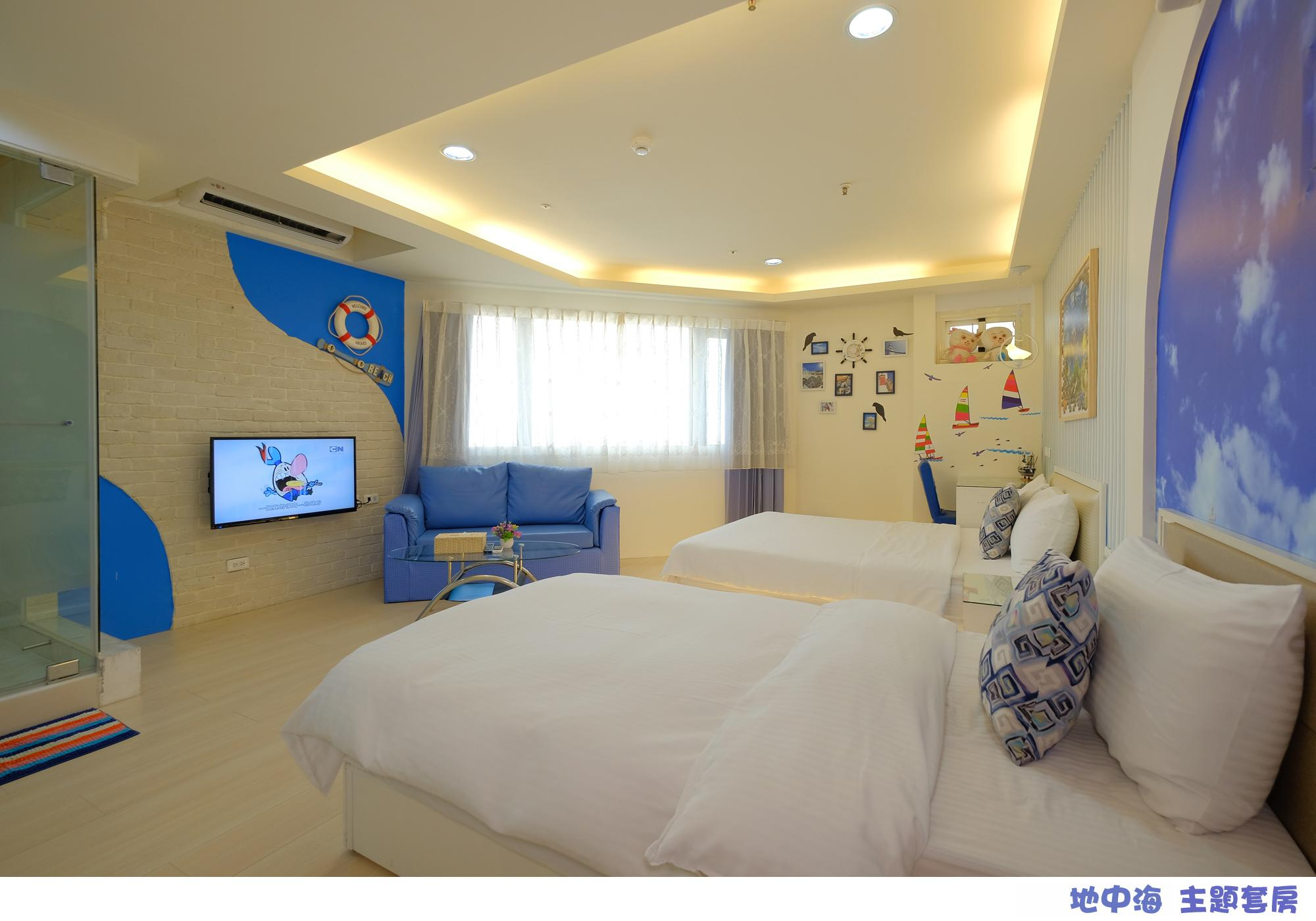 Landscape Theme 3P Room