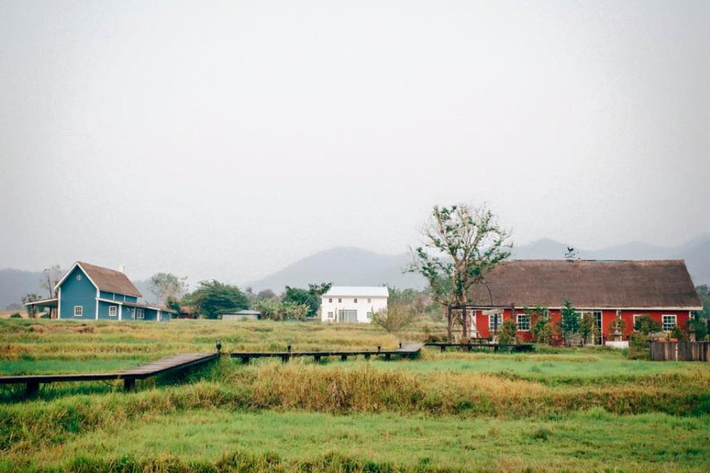 The Red House In Pai