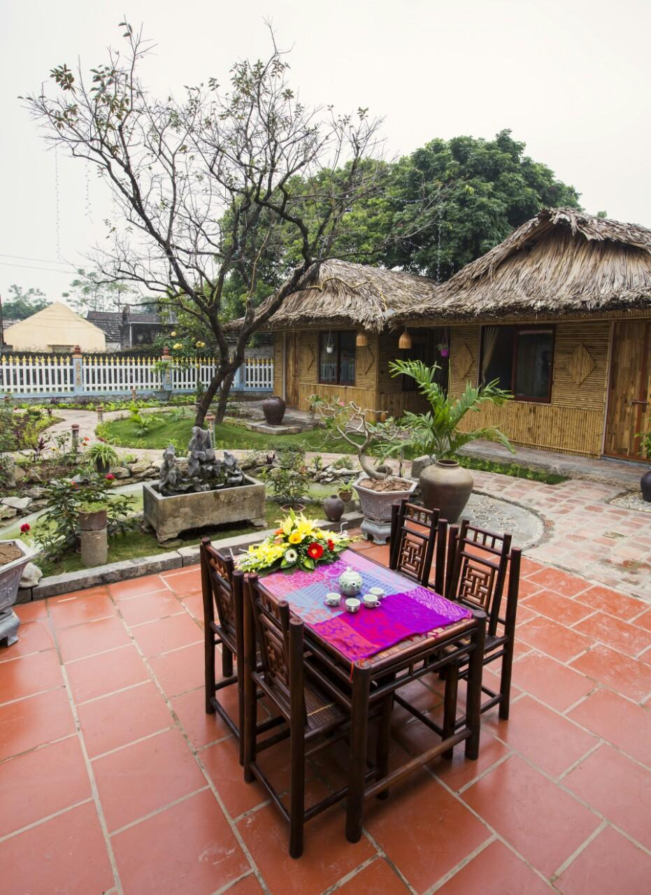 Tam Coc Palm House With Garden View