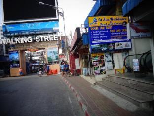 At Sea Residence Pattaya - Entrance walking street