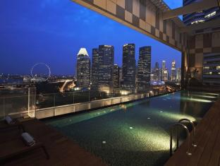 Pan Pacific Serviced Suites Beach Road, Singapore Singapur - Piscina