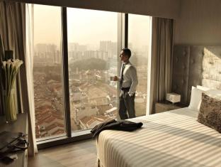 Pan Pacific Serviced Suites Beach Road, Singapore Singapur - Habitación