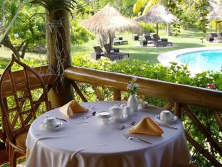 Badian Island Wellness Resort Badian - Restaurang