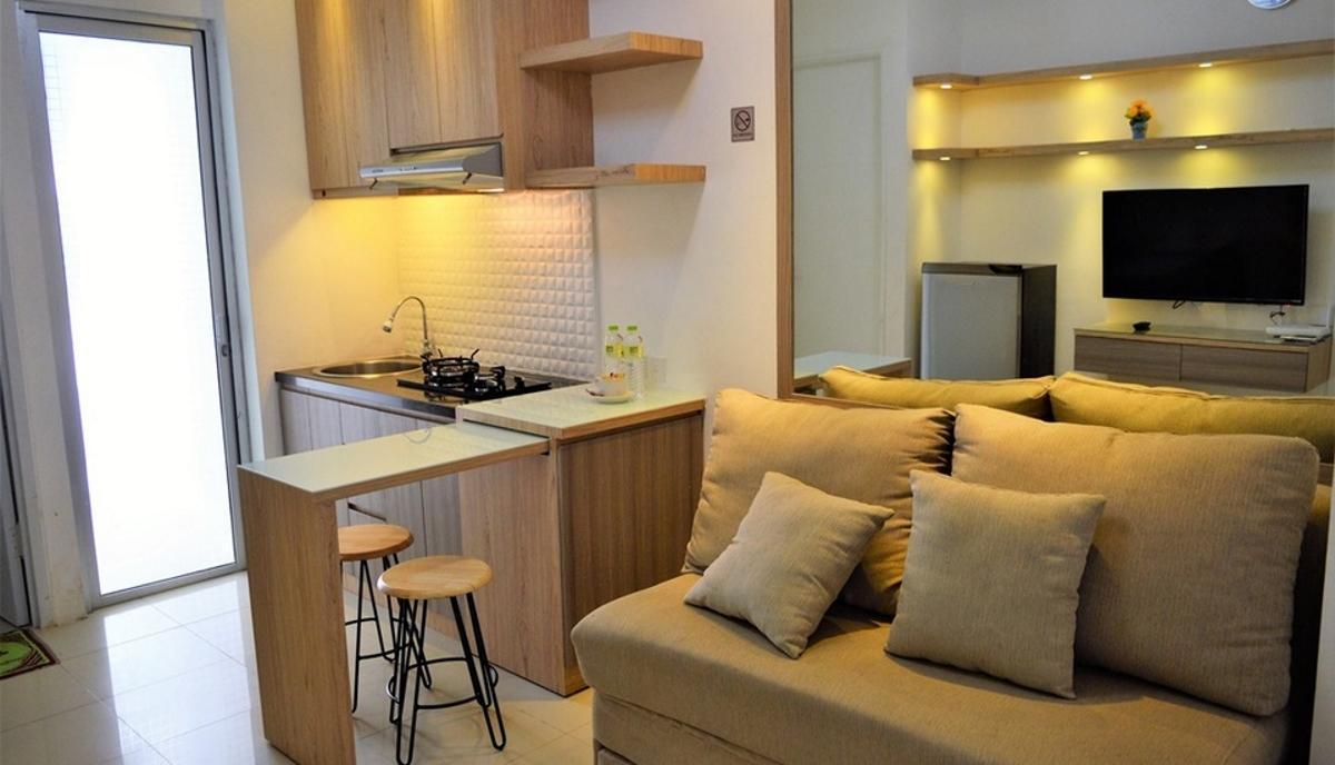 Bassura City Apartment By Roomku   2 BR Unit 9