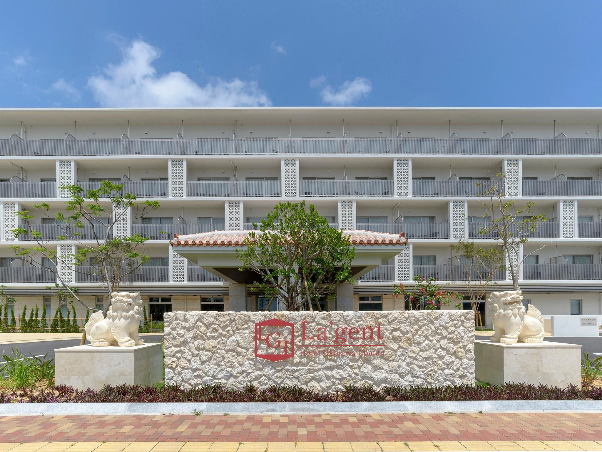La'gent Hotel Okinawa Chatan Hotel And Hostel