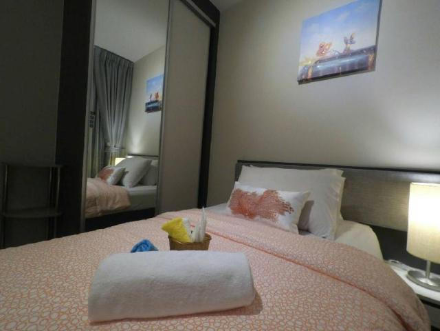 อพาร์ตเมนต์ 1 ห้องนอน 1 ห้องน้ำส่วนตัว ขนาด 35 ตร.ม. – พัทยากลาง – The Base Mandarin