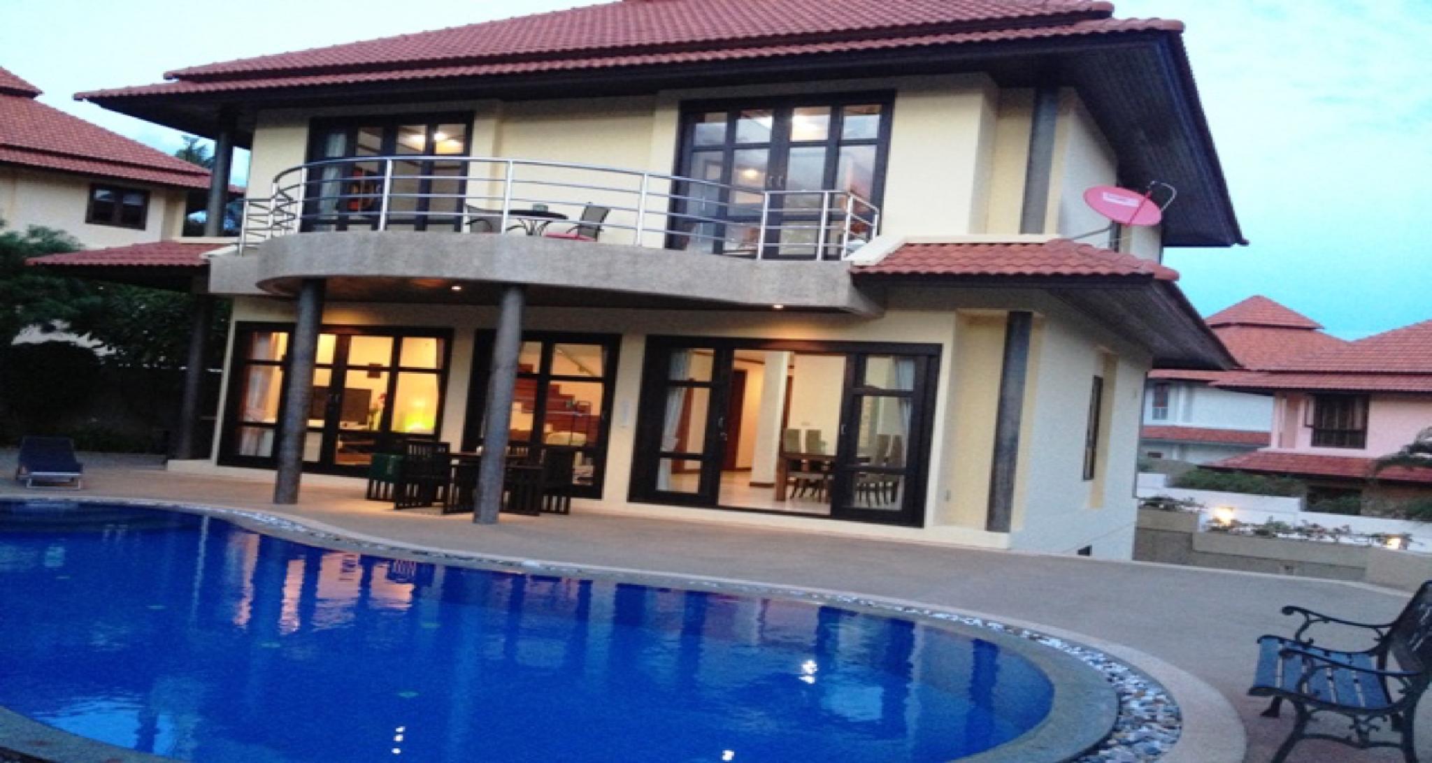 4 Bedroom Villa On Beachfront Resort  TG44