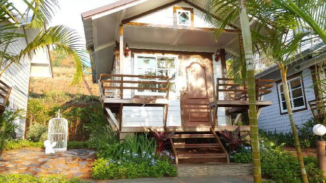 สตูดิโอ บ้าน 1 ห้องน้ำส่วนตัว ขนาด 18 ตร.ม. – กลางเมือง – The Hugo Cafe & Resort