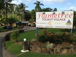 Flametree Tourist Village Whitsunday Islands - Hotellet udefra