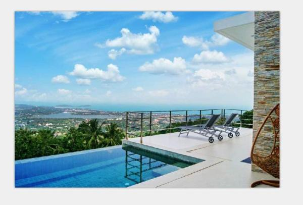 Perfect Villa Fantastic Sea View (Eco-friendly) Koh Samui