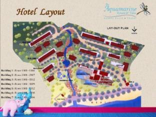Aquamarine Resort and Villa Phuket - Tlocrti