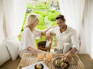 Kamandalu Ubud Resort Bali - Picnic Lunch - Rice Paddies view