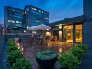 Simple+ Hotel Taipeh - Balkon/Terrasse