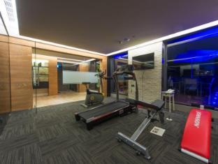 Simple+ Hotel Taipeh - Fitnessraum