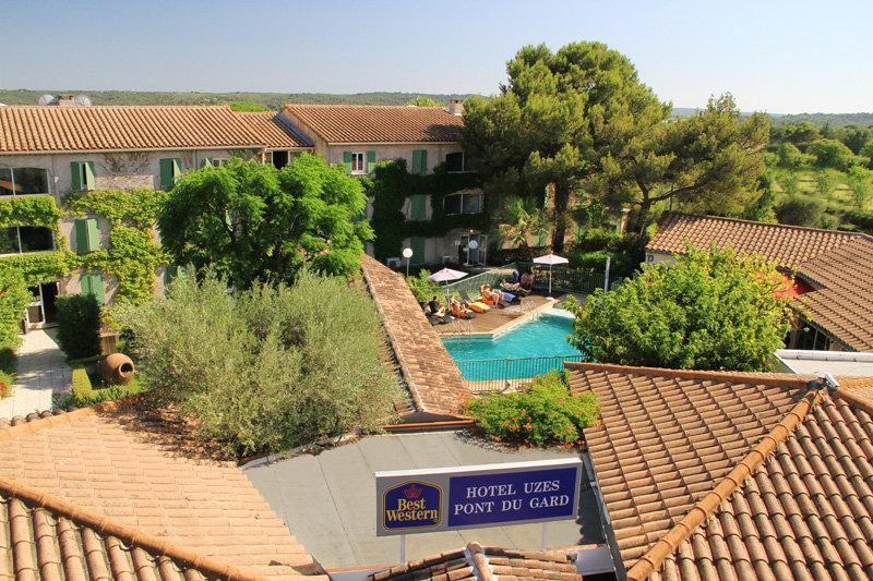Best Western Hotel Uzes Pont Du Gard
