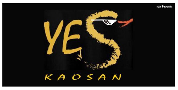 Yes kaosan Bangkok