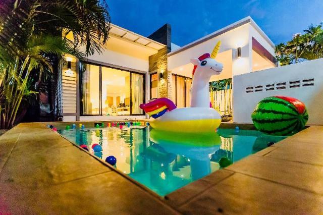 2 ห้องนอน 2 ห้องน้ำส่วนตัว ขนาด 200 ตร.ม. – บ่อฝ้าย – Baan Sala Pool Villa