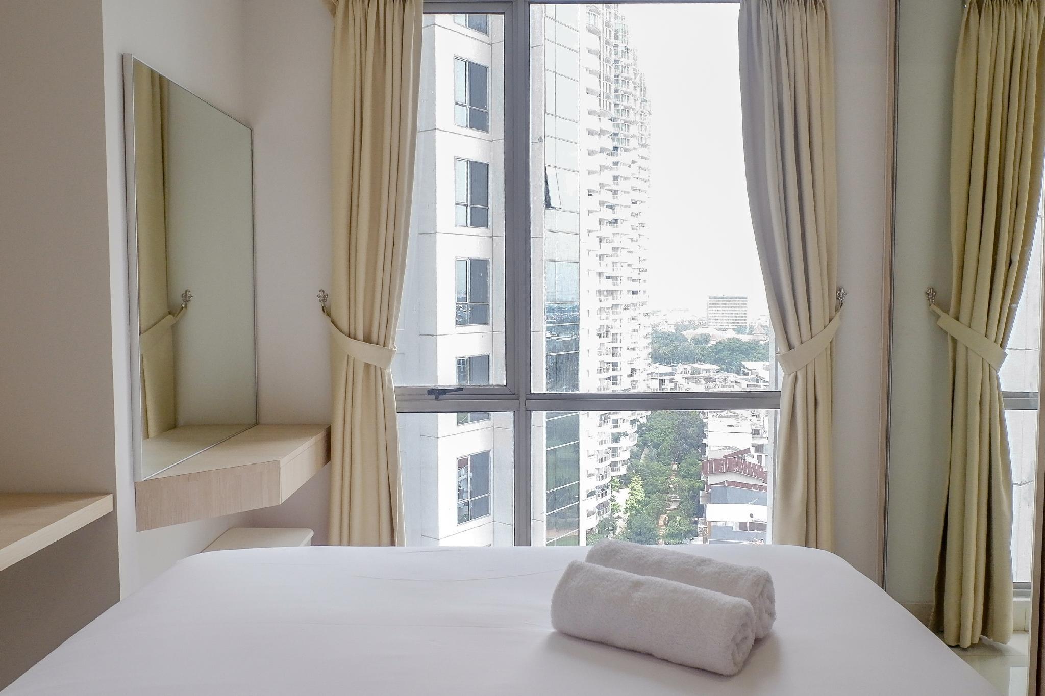 2BR The Mansion Apartment Kemayoran By Travelio