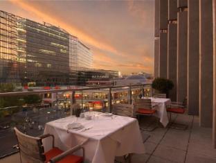 Swissotel Berlin Hotel Berlijn - Balkon/Terras