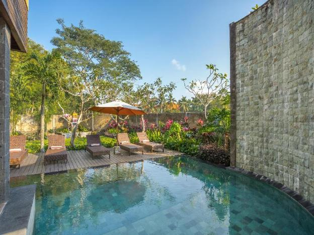 One-bedroom suite near the monkey forest in the heart of Ubud