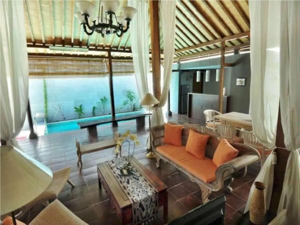 JOGLO 2BR Private Pool Villa In Kuta Bali