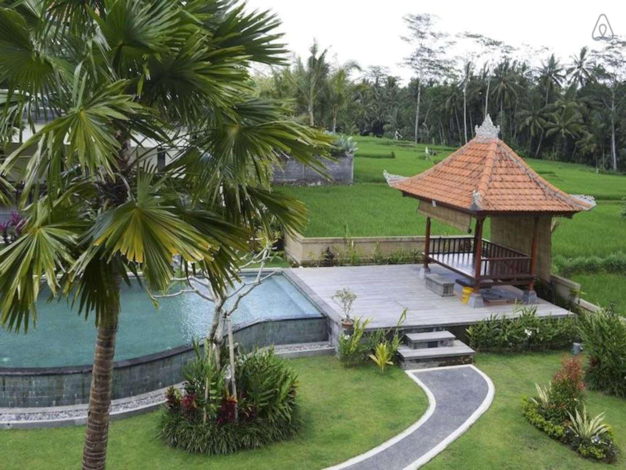 1BDR Ricefield Overview Villa Ubud