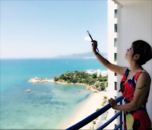 %name Blue sea view apartment Nha Trang
