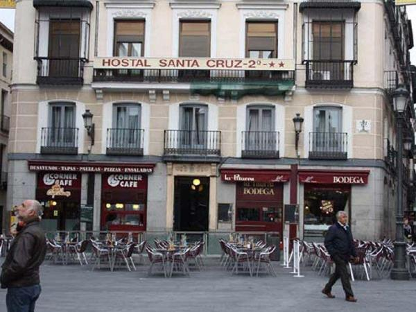 Hostal Santa Cruz Madrid