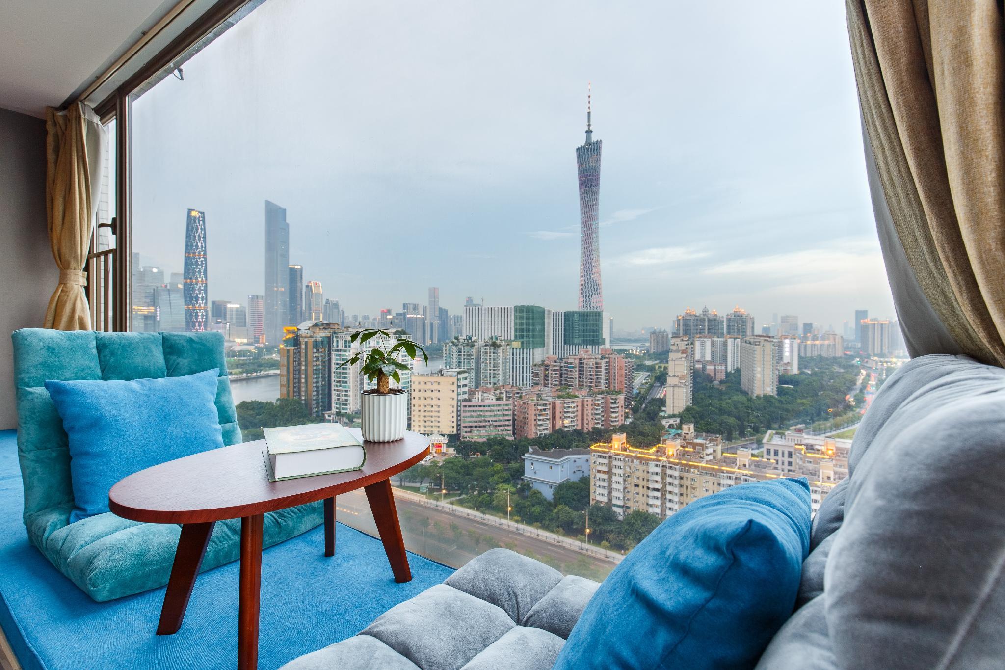 GuangzhouTower  High Rise City View  Canton Fair
